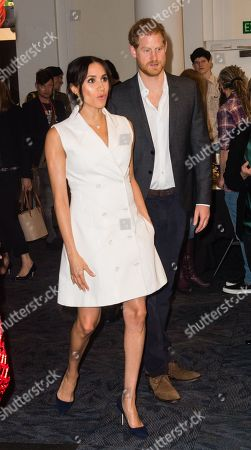 Prince Harry and Meghan Duchess of Sussex visit Courtnay Creative event celebrating the city's thriving arts scene in Wellington