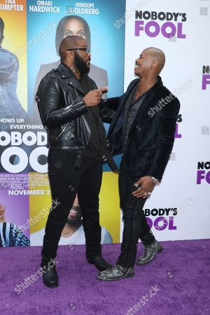 Tyler Perry and Mehcad Brooks