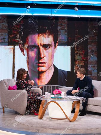 Lorraine Kelly and Max Irons