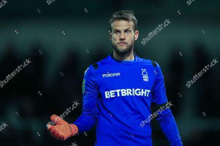 Luke Steele (15) of Nottingham Forest