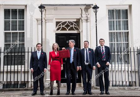 Robert Jenrick, Liz Truss, Philip Hammond, Mel Stride and John Glen