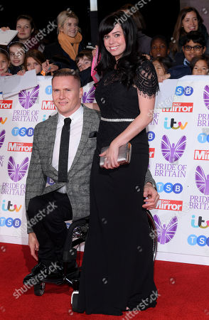David Weir and wife Emily