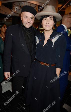 Sascha Lilic and Sharleen Spiteri
