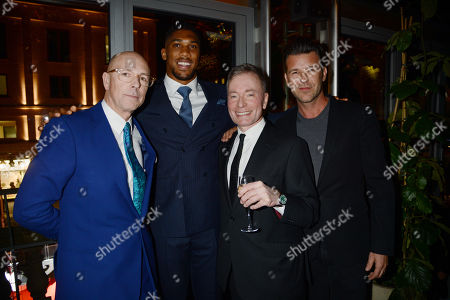 Dylan Jones, Anthony Joshua, Tony Parsons, Paul Solomons
