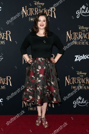 Editorial photo of 'The Nutcracker and the Four Realms' film premiere, Arrivals, Los Angeles, USA - 29 Oct 2018