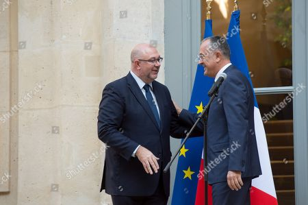 Editorial photo of Cabinet reshuffle, Ministry of Culture, Paris, France - 16 Oct 2018