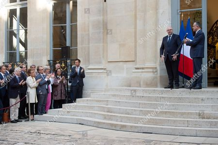Editorial picture of Cabinet reshuffle, Ministry of Culture, Paris, France - 16 Oct 2018