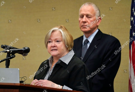 Dennis Shepard, Judy Shepard. Judy Shepard, left, and her husband Dennis Shepard, right, speak at a law enforcement roundtable on improving the identification and reporting of hate crimes at Department of Justice . Shepard's son, Matthew Shepard, was brutally murdered in 1998 and has come to symbolize the plight of the LGBTQ community in America