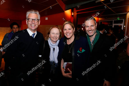 Michael Ritchie, Kate Burton, Mary McCormack and Michael Morris