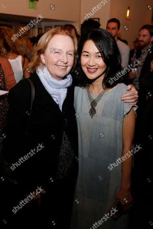 Kate Burton and Jackie Chung