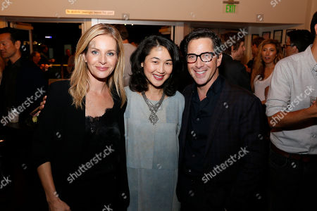 Stock Picture of Jessalyn Gilsig, Jackie Chung and Dan Bucatinsky