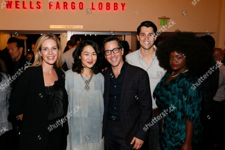 Editorial picture of 'Quack' play opening night, Los Angeles, USA - 28 Oct 2018