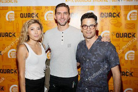 Dichen Lachman, Max Osinski and Enver Gjokaj