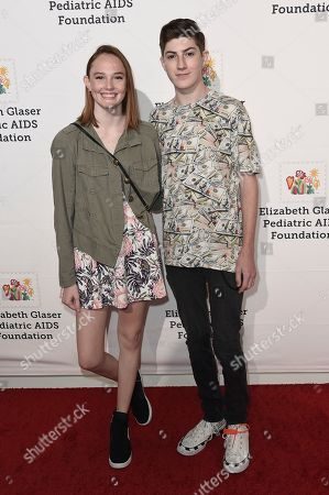 """Mason Cook attends """"A Time For Heroes"""" 2018 Family Festival at Smashbox Studios, in Culver City, Calif"""