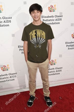 """Forrest Wheeler attends """"A Time For Heroes"""" 2018 Family Festival at Smashbox Studios, in Culver City, Calif"""
