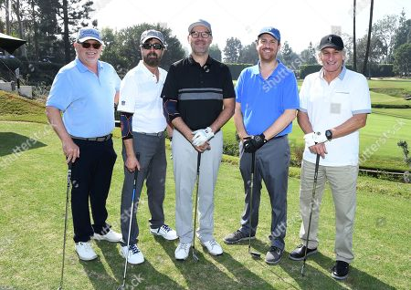 Richard Winnie, Jerry DiCanio, Jeremy Adell, Erik Rechsteiner, Matt Craven. Richard Winnie, from left, Jerry DiCanio, Jeremy Adell, Erik Rechsteiner and Matt Craven attend the 19th Annual Emmys Golf Classic at the Wilshire Country Club on in Los Angeles