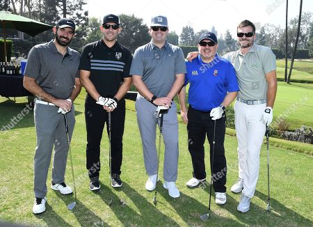 Armand Dembekjan, Matt Rosenfeld, Ryan Golden, Ignacio Guerra, Bailey Chase. Armand Dembekjan, from left, Matt Rosenfeld, Ryan Golden, Ignacio Guerra and Bailey Chase attend the 19th Annual Emmys Golf Classic at the Wilshire Country Club on in Los Angeles