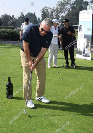 Aaron Kaplan attends the 19th Annual Emmys Golf Classic at the Wilshire Country Club on in Los Angeles