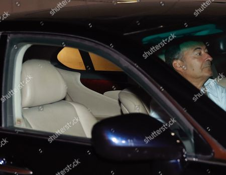Stock Photo of Real Madrid's vice president Eduardo Fernandez de Blas leaves after a Real Madrid directive board meeting in Madrid, Spain, 29 October 2018. Real Madrid's President Florentino Perez decided on 29 October 2018 to terminate Julen Lopetegui's contact as Real Madrid's head coach after 137 days in charge and substitute him temporarily with Argentinean former player and head coach Santiago Solari.