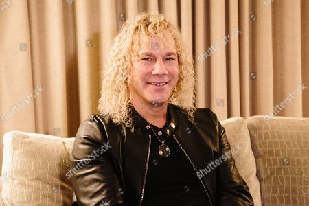 Keyborder David Bryan of US rock band Bon Jovi smiles during a press interview in New York, New York, USA, 29 October 2019. Bon Jovi will be back in Spain after six years in 2019 as part of the just announced European Tour that will visit countries as Russia, Estonia, Sweden, Norway, Holland, UK, Gerrmany, Denmark, Poland, Spain, Belgium, Austria, Switzerland, and Romania in a total of 18 cities.