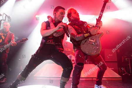 Editorial picture of Shinedown in concert at O2 Academy, Newcastle, UK - 29 Oct 2018