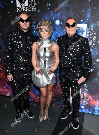 Lance LePere, Jane Krakowski, Michael Kors. Lance LePere, left, Jane Krakowski and Michael Kors attend Bette Midler's New York Restoration Project's 22nd annual Hulaween party at the Cathedral of St. John the Divine, in New York