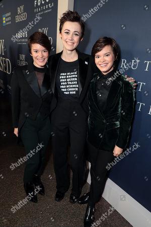 Stock Picture of Emily Hinkler, Jesse LaTourette, Elizabeth Hinkler