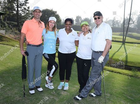 Ethan Wright, Dawn Perdew, Tiffany Fitzgerald, Rachelle Houston, Peter Mackenzie. Ethan Wright, from left, Dawn Perdew, Tiffany Fitzgerald, Rachelle Houston and Peter Mackenzie attend the 19th Annual Emmys Golf Classic at the Wilshire Country Club on in Los Angeles