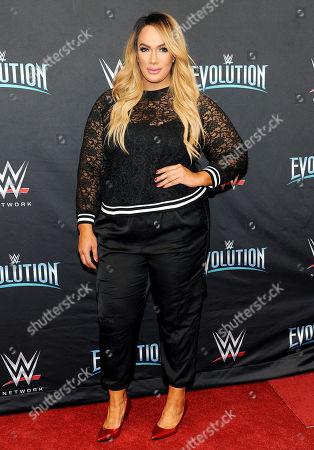 Editorial photo of WWE 'Evolution', Nassau Veterans Memorial Coliseu, New York, USA - 28 Oct 2018