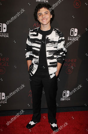 Editorial photo of Asher Angel's 16th birthday party, Los Angeles, USA - 28 Oct 2018