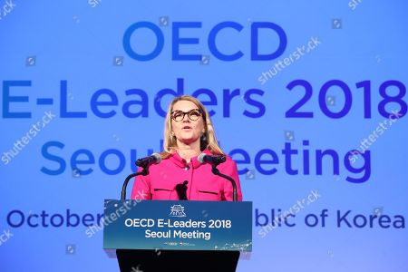 Editorial image of OECD E-Leaders Meeting in Seoul, Korea - 30 Oct 2018