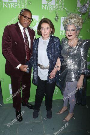 Stock Image of Wynton Marsalis, Mica Ertegun and Bette Midler