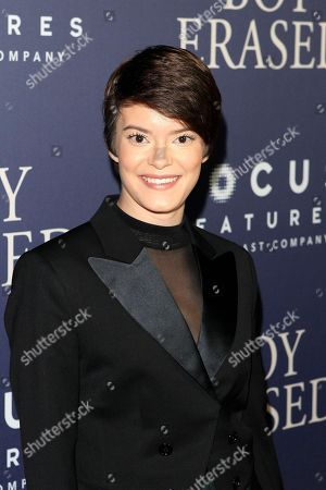 Stock Picture of US actress/cast member Emily Hinkler arriving for the premiere of Boy Erased at the Directors Guild of America in West Hollywood, California, USA, 29 October 2018. The movie opens in the US on 02 November 2018.
