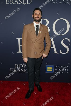 Editorial image of 'Boy Erased' film premiere, Arrivals, Los Angeles, USA - 29 Oct 2018