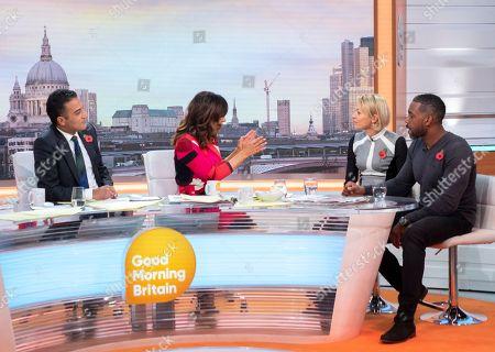 Editorial image of 'Good Morning Britain' TV show, London, UK - 30 Oct 2018