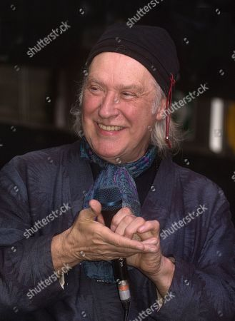 Stock Picture of Dave Davies of the Kinks talking about 'The Kinks Are the Village Green Preservation Society' album