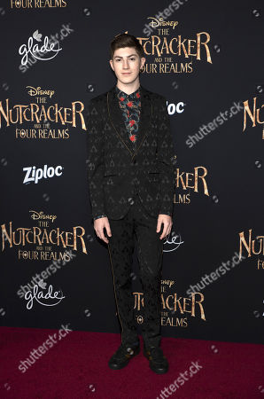 Editorial image of 'The Nutcracker and the Four Realms' film premiere, Arrivals, Los Angeles, USA - 29 Oct 2018