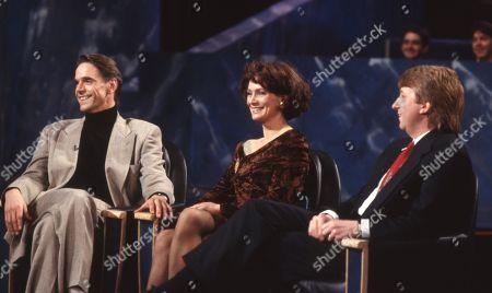 Jeremy Irons, Francesca Annis, Jimmy Mulville