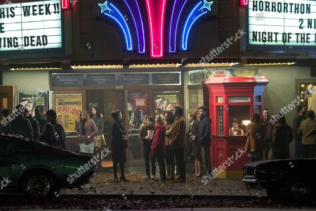 Michelle Gomez as Mary Wardwell, Lachlan Watson as Susie Putnam, Kiernan Shipka as Sabrina Spellman, Jaz Sinclair as Rosalind Walker, Ross Lynch as Harvey Kinkle