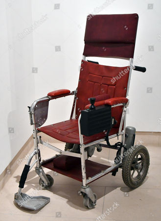 Stephen Hawking's motorised wheelchair, c. 1988, estimate £10,000-15,000