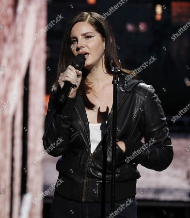 Stock Picture of US singer Lana Del Ray performs during an Apple special event at the Howard Gilman Opera House at the Brooklyn Academy of Music before the start of an Apple event in New York, New York, USA, 30 October 2018. The event follows soon after a major Apple iPhone product launch in September 2018.