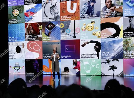 Editorial image of Apple product event in NYC, New York, USA - 30 Oct 2018
