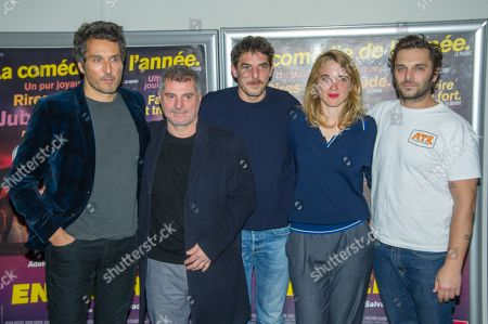 Editorial image of 'En Liberte' film photocall, Paris, France - 29 Oct 2018