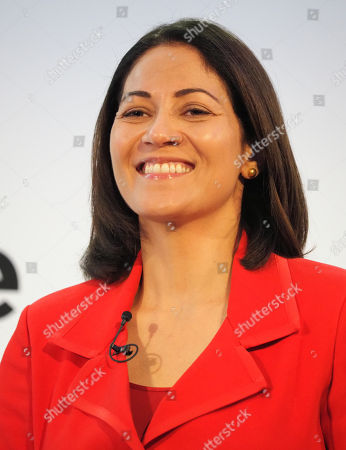 Mishal Husain speaking at the Airport Operators Conference
