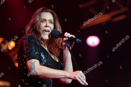 Beth Hart performs on stage at the Baloise Session in Basel, Switzerland, 30 October 2018. The music event runs from 19 October to 06 November.