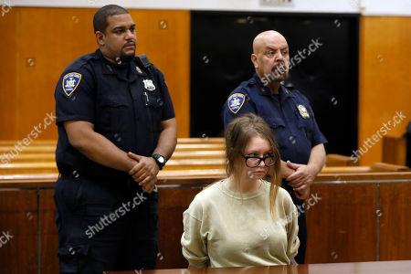 Editorial photo of Anna Sorokin, New York, USA - 30 Oct 2018