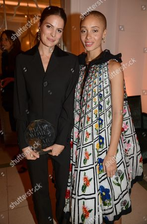 Cameron Russell and Adwoa Aboah