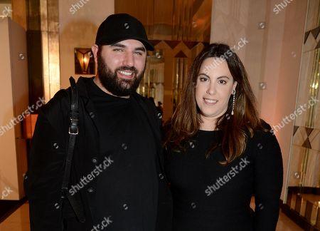 Michael Halpern and Mary Katrantzou