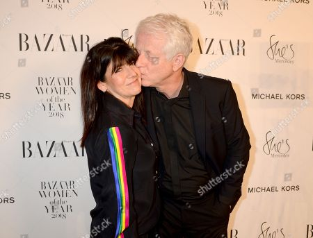 Stock Photo of Emma Freud and Richard Curtis
