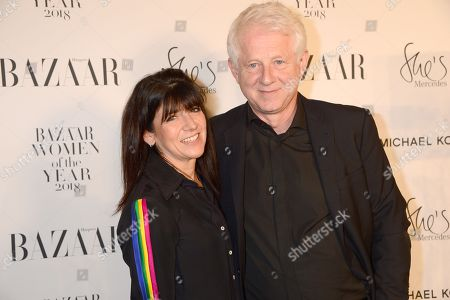 Stock Picture of Emma Freud and Richard Curtis